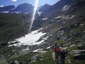 Trekking sul Gran Paradiso con esercizi mindfulness
